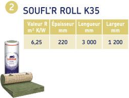 SOUFFL'R ROLL K35