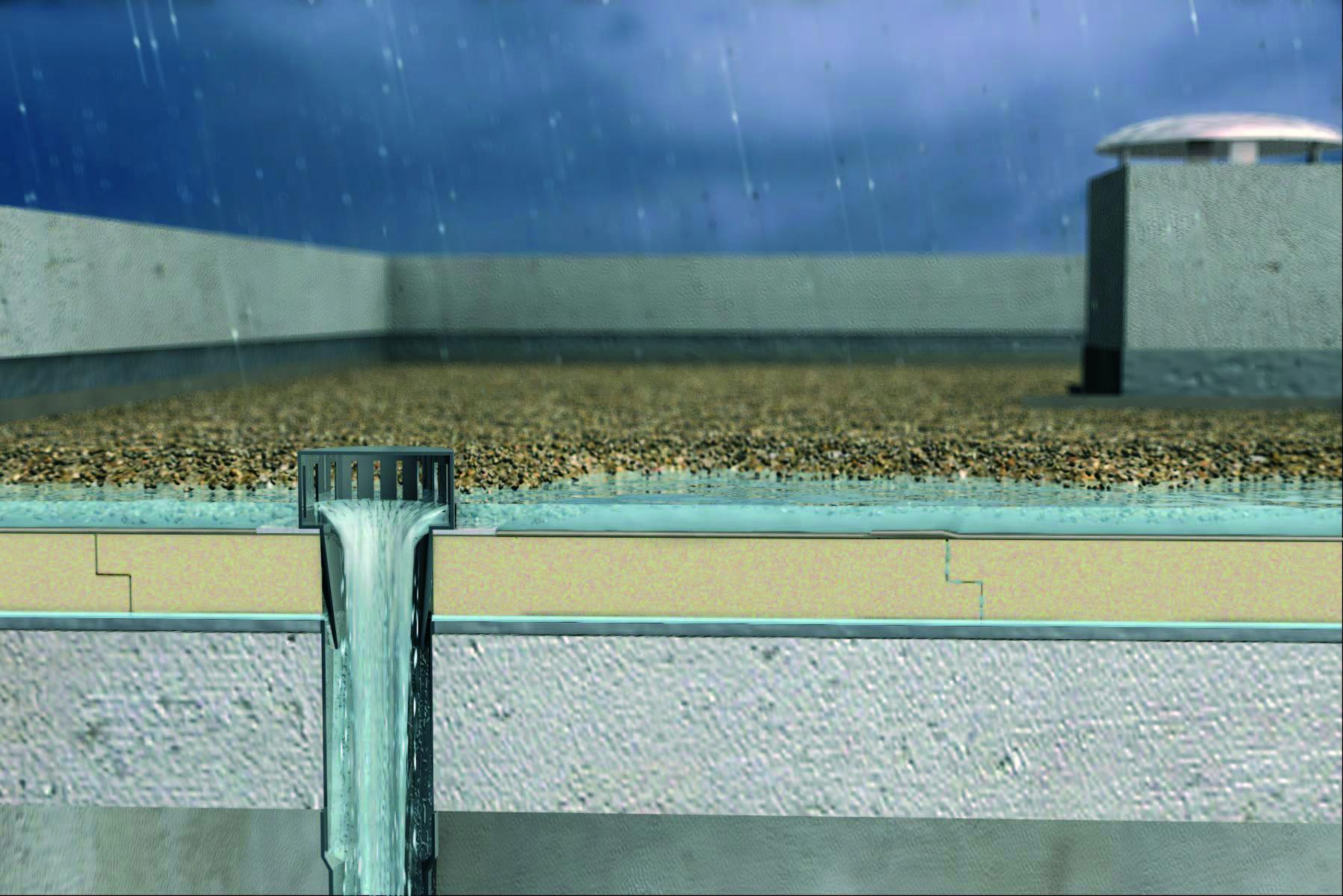 Toitures terrasses ursa for Isolation exterieur xps