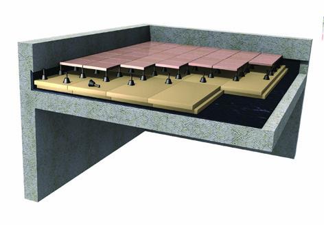 Toitures terrasses ursa for Isolation toiture terrasse bois